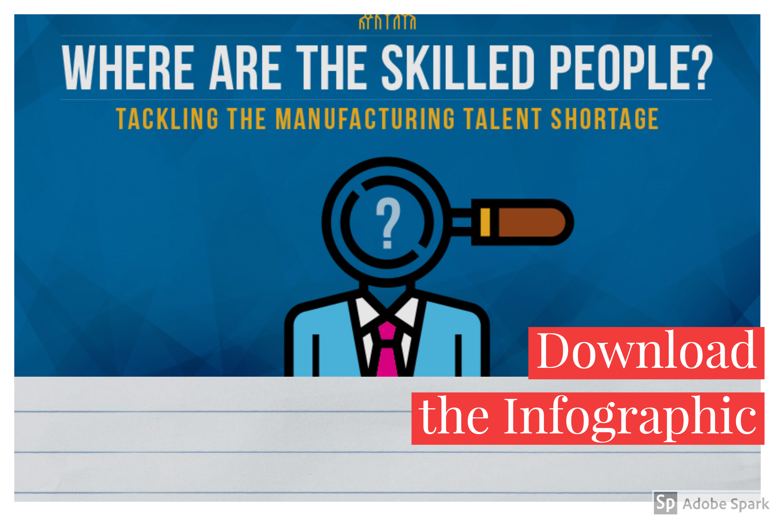 Where are all the skilled people infographic