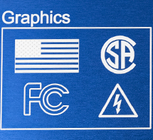 Laser mark graphics on aluminum