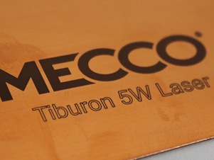 Tiburon Laser Marking Samples