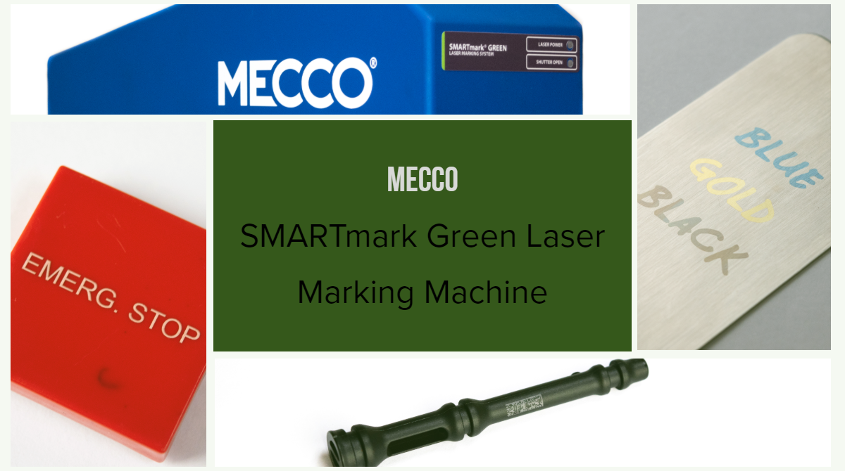SMARTmark Green Laser marking machine samples