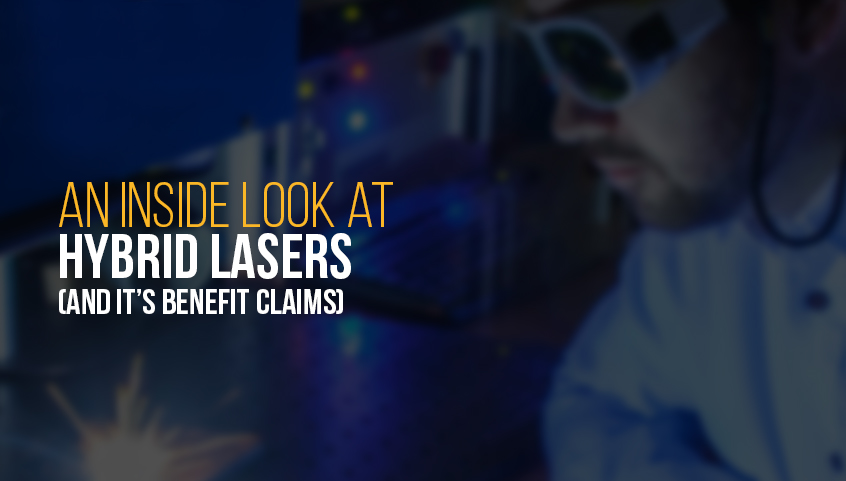 Inside look at hybrid laser technology
