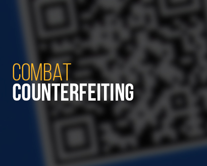 Combat Counterfeiting