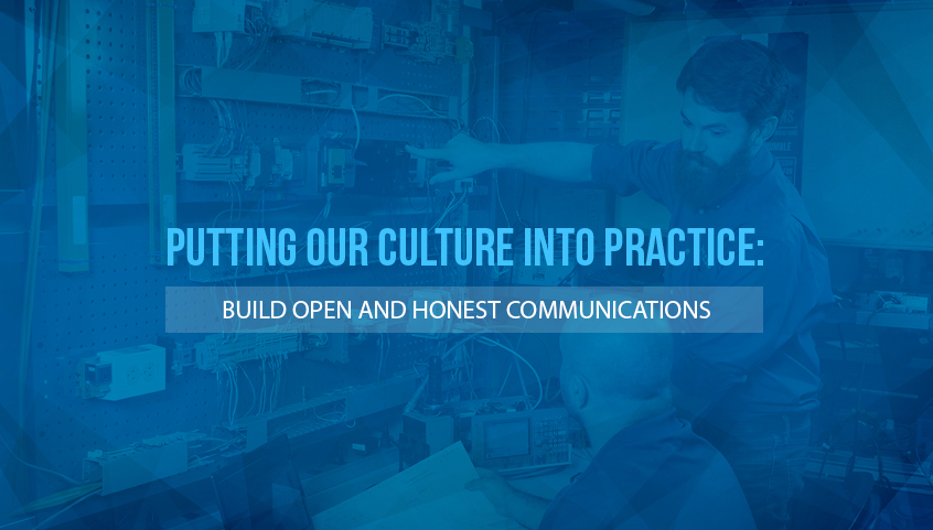 Build Open and Honest Communications