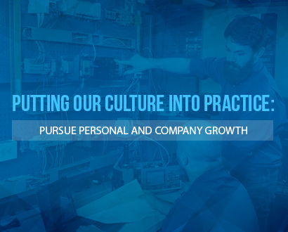 Pursue personal and company growth