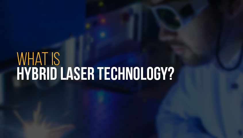 What is hybrid laser technology?