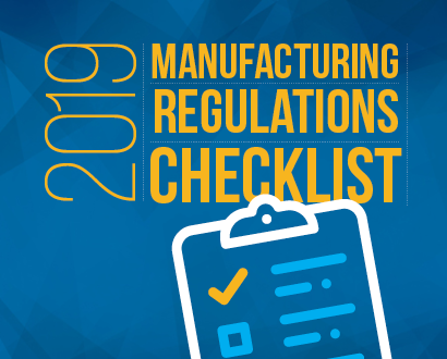 2019 Manufacturing Traceability Regulations Checklist