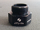 MECCO's 20W Fiber Laser made a small, non-evasive mark and added permanent traceability to all Jiffy-tite's parts.