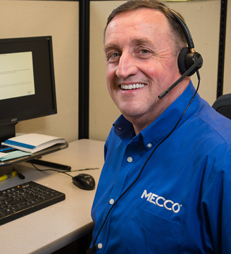 MECCO Customer Support Manager Peter Sweet