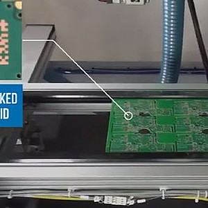 2-Sided Printed Circuit Board Laser Marking System