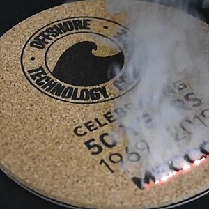 Laser Marking Cork Coaster