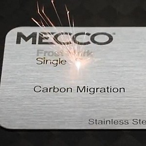 Fiber Laser Marking on Stainless Steel